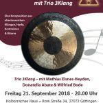 2018-09-21, Plakat Trio 3Klang