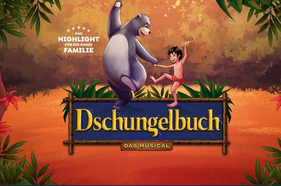 Dschungelbuch – das Musical, 25.03.2023, Lokhalle Göttingen